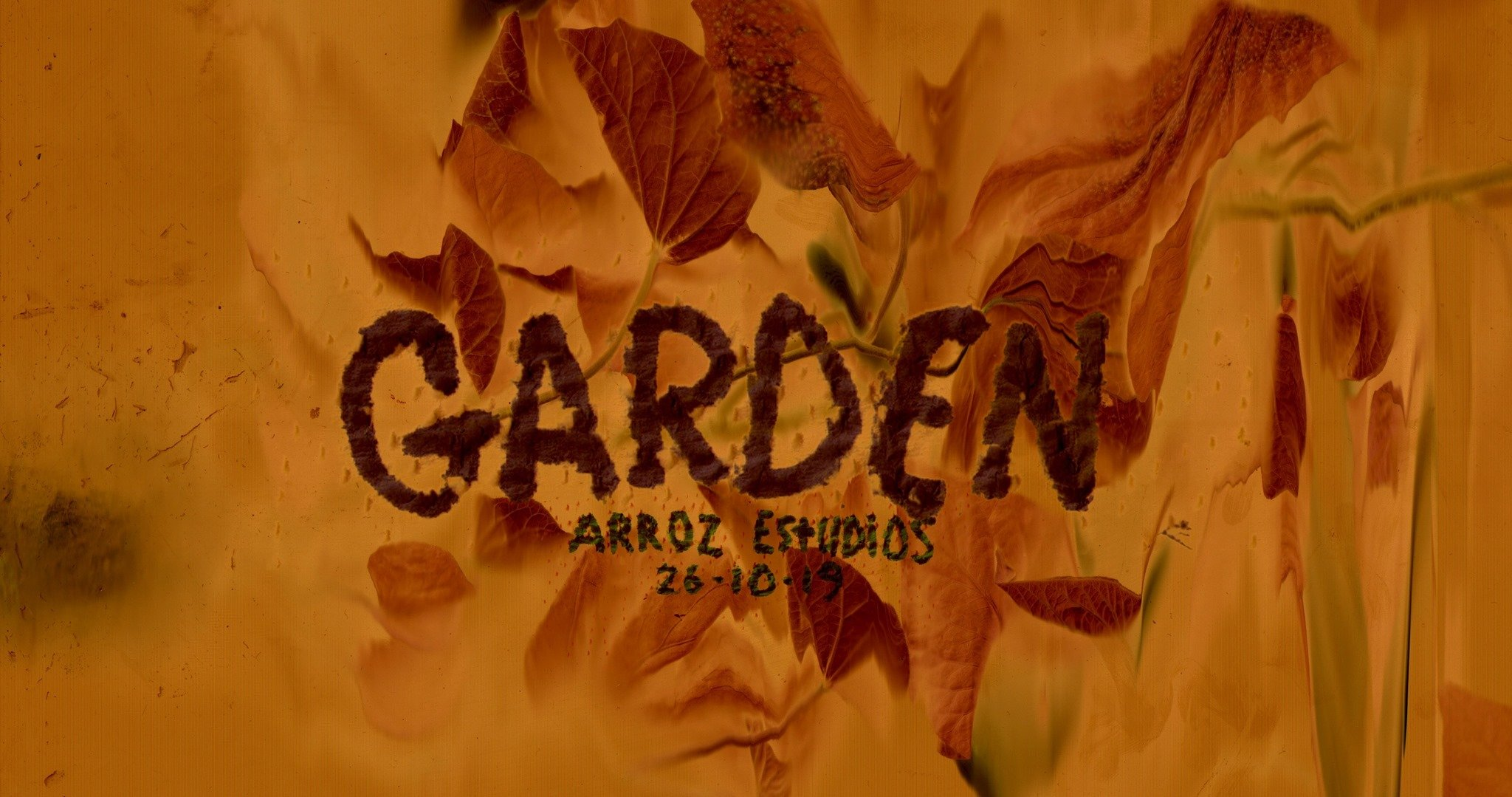 Upcoming Event | Garden of Ghouls: Halloween Special | Arroz Estudios | Oct 26